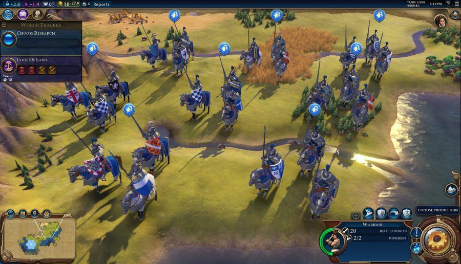 une photo de beaucoup de chevaliers à cheval
