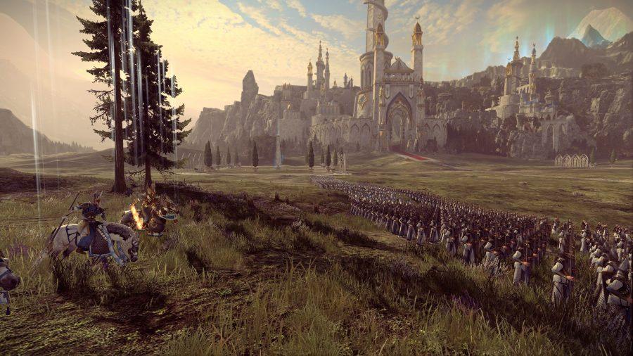 Un siège de Warhammer 2 qui semble pouvoir se dérouler dans Le Seigneur des Anneaux